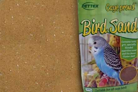 PETTEX BIRD SAND with grit & oyster shell